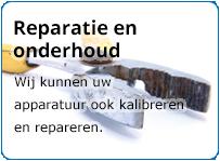 Hatek kan uw lasapparatuur ook repareren en kalibreren