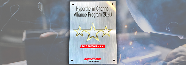 HYPERTHERM GOLD PARTNER 2020