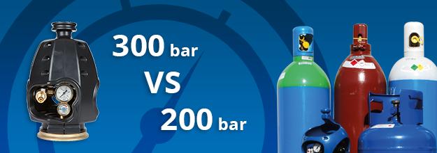 300 bar gasflessen; Werking en voordelen