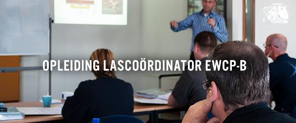 Opleiding lascoördinator (EWCP-B) weer van start