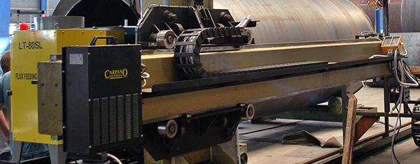 Revisering 25 jaar oude laskolom voor Boeters Ketel Constructie