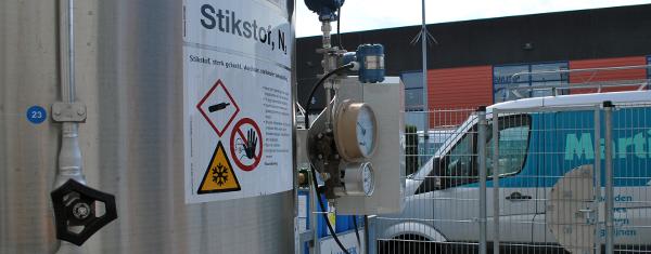 Kostenbesparing voor Martin Stolze b.v. door cryogene N2-tankinstallatie