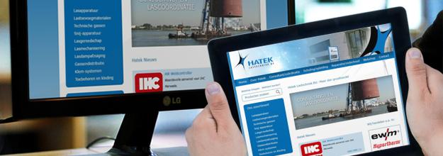 Verbeterde website Hatek