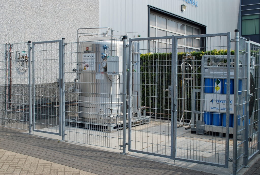 Cryogene tankinstallatie