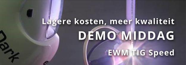 [VIDEO] 4 juni EWM TIG Speed demo middag bij Hatek