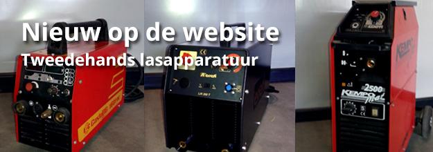 Nieuw op de site: Tweedehands lasapparatuur